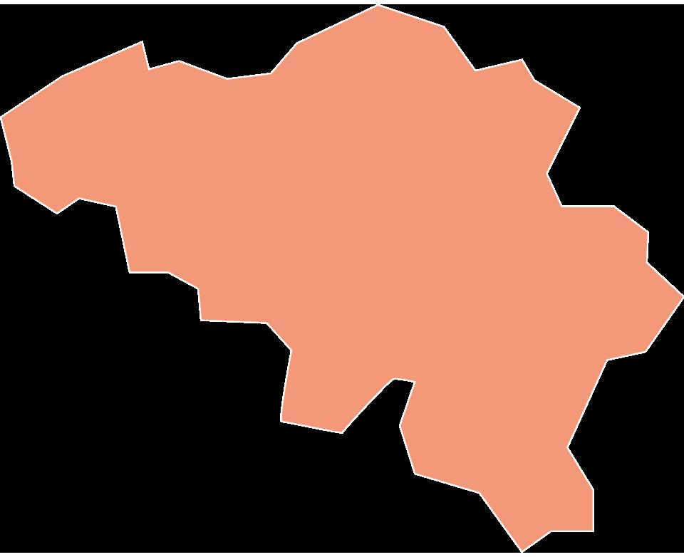Map of Sempatap commercial representatives in Belgium