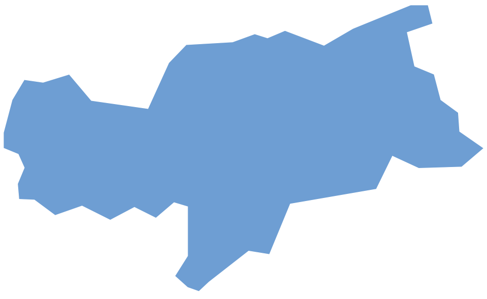 Map of Sempatap commercial representatives in South Tyrol
