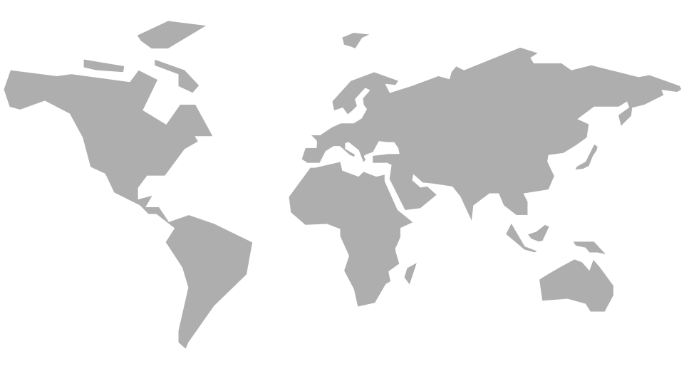 Map of Sempatap commercial representatives in the rest of the world
