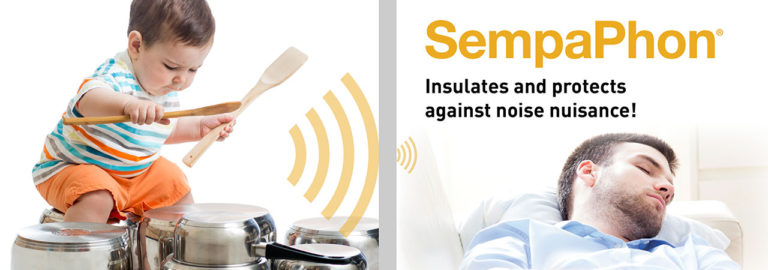 Discover SempaPhon, a solution for soundproofing internal walls, which protects you from noise nuisance.