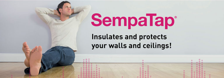 Discover SempaTap, a thermal insulation and sound absorption solution for walls and ceilings.