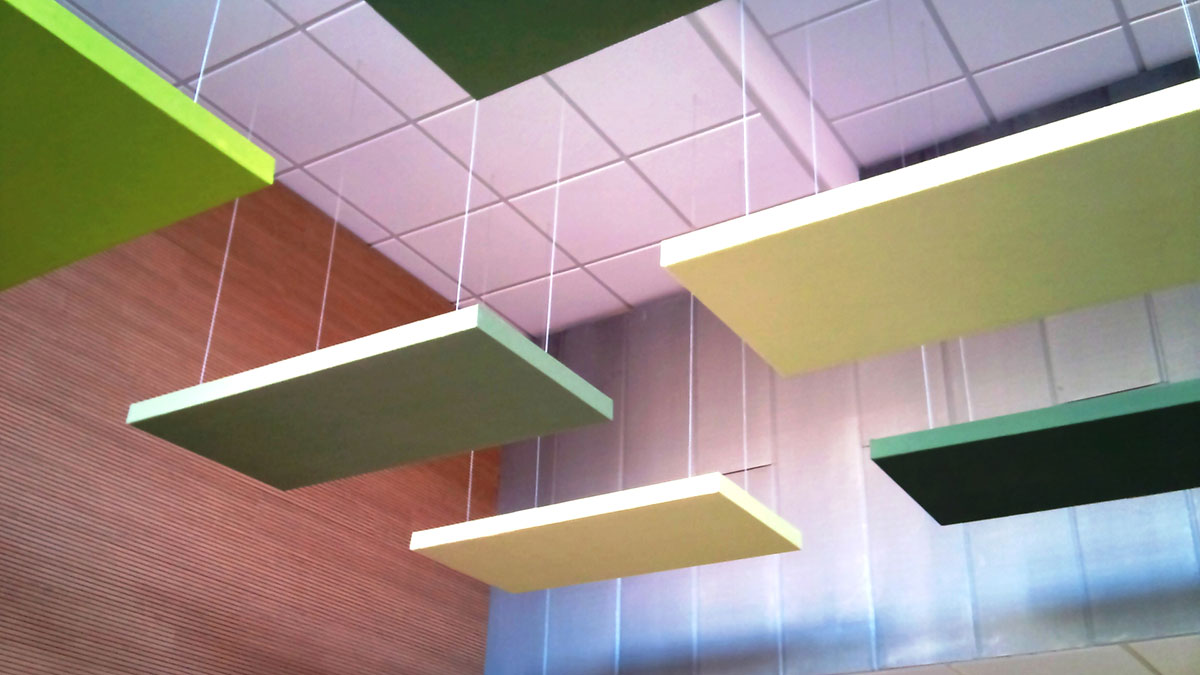 Absopanel Sound Absorbing Panels For Walls And Ceilings
