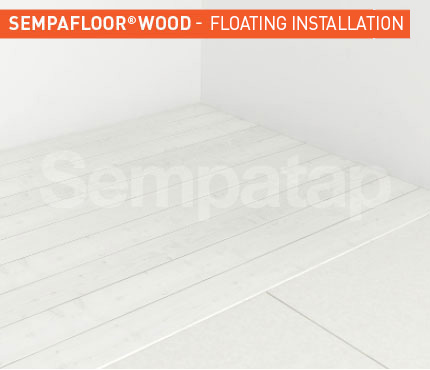 SempaFloor PVC, soundproofing under floors and PVC coverings